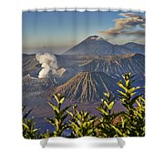 Bromo Tengger Semeru National Park Shower Curtain