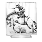 Bronco Shower Curtain