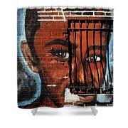 Bronx Graffiti - 2 Shower Curtain
