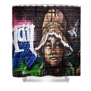 Bronx Graffiti. Jonathan Shower Curtain
