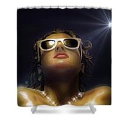 Bronze Beauty - Featured In Comfortable Art Group Shower Curtain