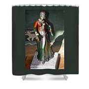 Bronze Dancer Shower Curtain