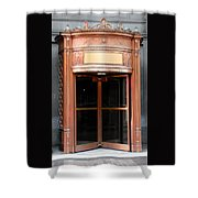 Bronze Doors Shower Curtain