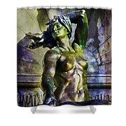 Bronze Nude Shower Curtain