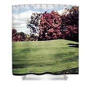 Brookhill Golf Course Shower Curtain
