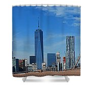 Brooklyn Bridge And Lower Manhattan Shower Curtain