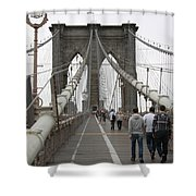 Brooklyn Bridge II Shower Curtain