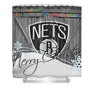 Brooklyn Nets Shower Curtain