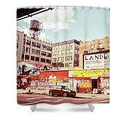 Brooklyn - New York City - Williamsburg Shower Curtain