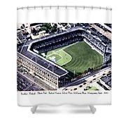Brooklyn - New York - Flatbush - Ebbets Field - 1940 Shower Curtain