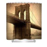 Brooklyn Nostalgia Shower Curtain