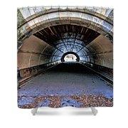 Brooklyn Prospect Park Tunnel Shower Curtain
