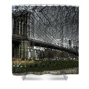 Brooklyn Shakes Shower Curtain