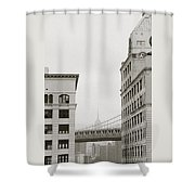 The Beauty Of New York Shower Curtain