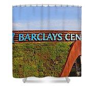 Brooklyn's Barclays Shower Curtain