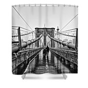 Brookyln Bridge  Shower Curtain