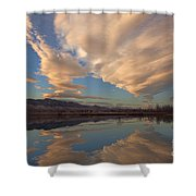 Broomtail Sky Shower Curtain