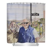 Bros Shower Curtain