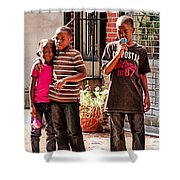 Brother And Sister Shower Curtain