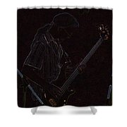 Brother Bassist Shower Curtain