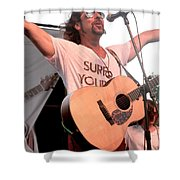 Brother Joscephus And The Love Revival Revolution Orchestra Shower Curtain