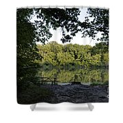 Brother's Fishin' Hole 20140719 Shower Curtain