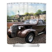 Brown Classic Collector Shower Curtain