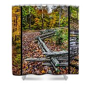 Brown County Park Shower Curtain