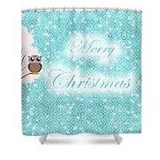 Christmas Card 7 Shower Curtain