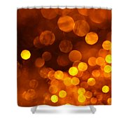 Brown Sugar Shower Curtain