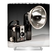 Brownie Hawkeye Shower Curtain