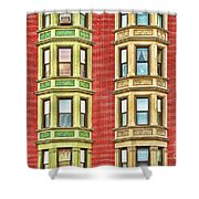 Brownstone Beauty Shower Curtain