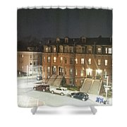 Brownstone Shower Curtain