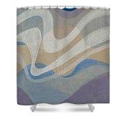 Brrreeezzzeee Shower Curtain