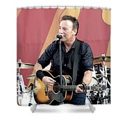 Bruce Springsteen 12 Shower Curtain