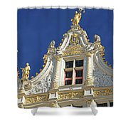 Bruges Architecture Shower Curtain