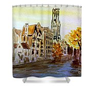 Brugges Belgium Shower Curtain