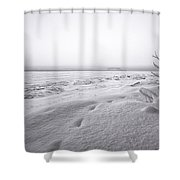 Brule Bay Lake Superior Shower Curtain