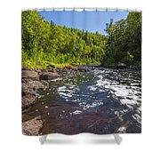 Brule River 1 Shower Curtain