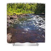 Brule River 2 Shower Curtain