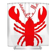 Brunswick Maine Lobster With Feelers 20130605 Shower Curtain