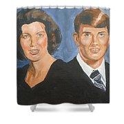 Bryan And Gina Shower Curtain
