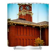 Bryan Hall At Washington State University Shower Curtain