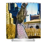 Bryant Park Kelpy Too Two Shower Curtain by John Jack
