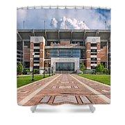 Bryant Denny Stadium Shower Curtain by Ben Shields