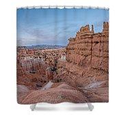Bryce Amphitheater Fisheye View Shower Curtain
