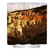 Bryce Canyon 3 Shower Curtain