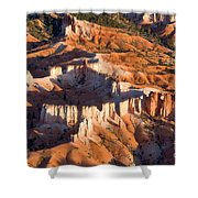 Bryce Canyon From The Air Shower Curtain