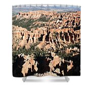 Bryce Canyon Hoodoos And Fins Shower Curtain