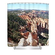 Bryce Canyon Hoodoos Landscape Shower Curtain